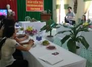 Kết quả kiểm tra công nhận Trường MN đạt chuẩn quốc gia sau 5 năm tại trường MN Đại Tân
